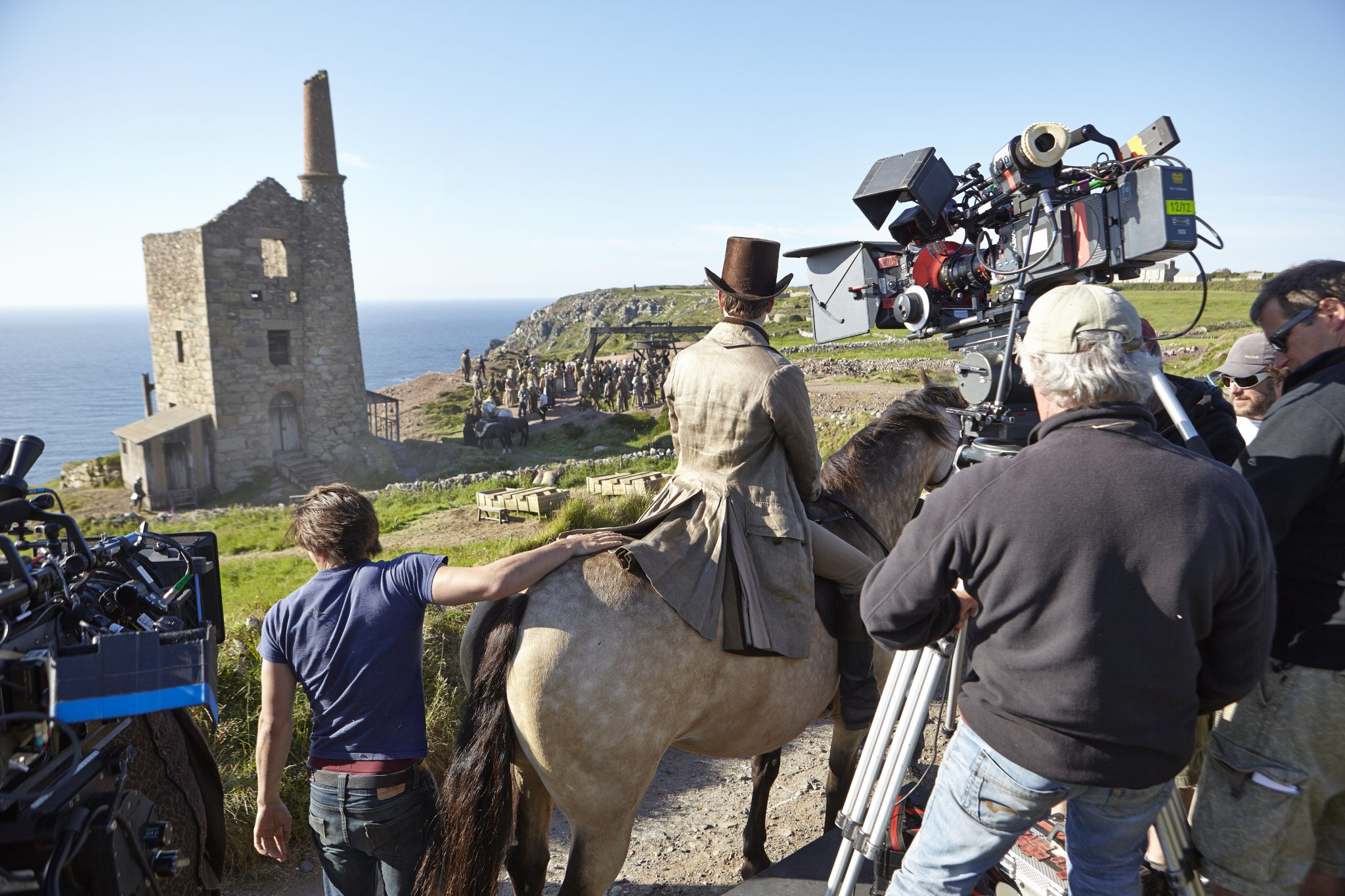 POldark filming, production, location, south west England, Cornwall, Location Management